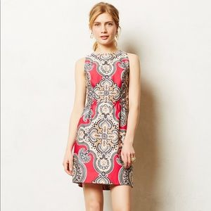 Anthropologie Moulinette Soeurs Geidi Pink Dress 6